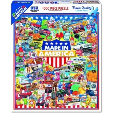 White Mountain Puzzles Made In America 1000 Piece Puzzle 1183PZ