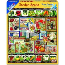 White Mountain Puzzles Garden Seeds 1000 Piece Puzzle 1232PZ