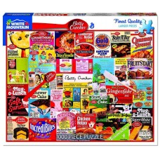 White Mountain Puzzles Betty Crocker Products 1000 Piece Puzzle 1275PZ