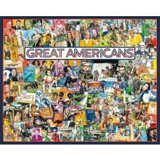 White Mountain Puzzles Great Americans 1000 Piece Puzzle 1291PZ