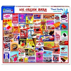 White Mountain Puzzles Ice Cream Bars 1000 Piece Puzzle 1343PZ