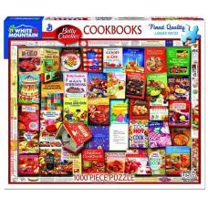 White Mountain Puzzles Betty Crocker Cookbooks 1000 Piece Puzzle 1358PZ