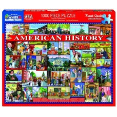 White Mountain Puzzles American History 1000 Piece Puzzle 1472PZ