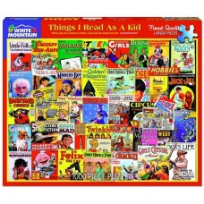 White Mountain Puzzles Things I Read As A Kid 1000 Piece Puzzle 1503PZ
