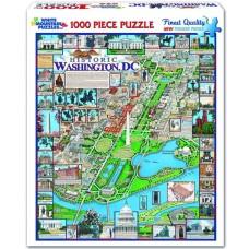 White Mountain Puzzles Historic Washington DC 1000 Piece Puzzle 220PZ