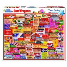 White Mountain Puzzles Gum Wrappers 1000 Piece Puzzle 885PZ