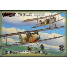 Wingnut Wings 1:32 Halberstadt CI.II & RE.8 Early Plastic Model Kit