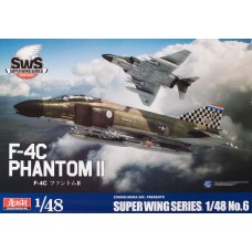 Zoukei-Mura 1:48 F-4C Phantom II Plastic Model Kit