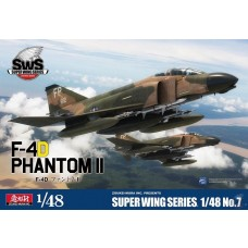 Zoukei-Mura 1:48 F-4D Phantom II Plastic Model Kit