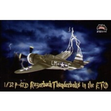 Zotz 1:32 P47D Razorback Thunderbolt Model Decals