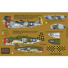 Zotz 1:32 P-47D Thunderbolts Decals