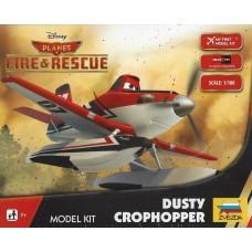 Zvezda 1/100 Disney's Dusty Crophopper Plastic Model Kit