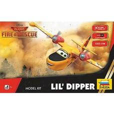 Zvezda 1/100 Disney's Planes Rescue Lil Dipper Plastic Model Kit