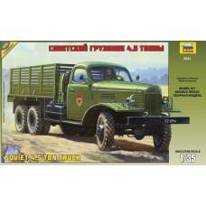 Zvezda 1:35 Soviet 4.5-Ton Truck Plastic Model Kit