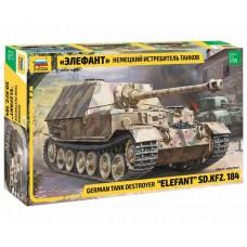 Zvezda 1/35 Elefant SdKfz 184 Plastic Model Kit