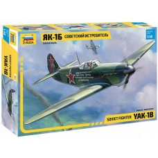 Zvezda 1/48 Yak1B Fighter Plastic Model Kit
