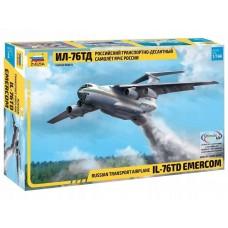 Zvezda 1/144 Il-76TD Plastic Model Kit