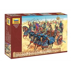 Zvezda 1:72 Persian Chariot and Cavalry Plastic Model Kit