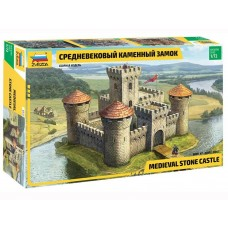 Zvezda 1/72 Medieval Castle Plastic Model Kit