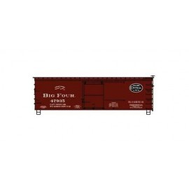 Fowler HO Scale 36' Wood Boxcar - Boxcar Red Royal Gorge Logo (D&RGW #66185)