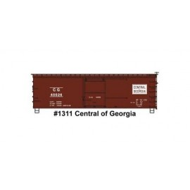 Accurail HO Scale 36' Double-Sheathed Wood Boxcar Steel Roof Ends Fishbelly Underframe Kit CG #40026