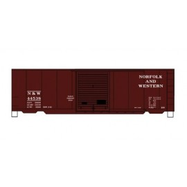 Accurail HO Scale 40' PS-1 Steel Boxcar Kit Norfolk & Western #44538