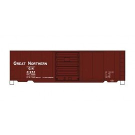 Accurail HO Scale 40' PS-1 Steel Boxcar - Kit - Great Northern #21952