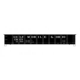 Accurail HO Scale AAR 41' Steel Gondola Kit Gulf Mobile & Ohio #13907
