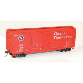 Accurail HO Scale 40' Combination Door Steel Boxcar Kit Great Northern #11886