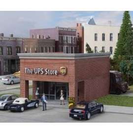 Walthers Cornerstone HO The UPS Store