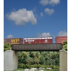 Walthers Cornerstone HO 70' Single-Track Railroad Through Girder Bridge