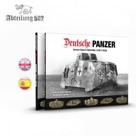 Abteilung 502 Deutsche Panzer German Tanks in WWI (1917-1918) Hardback Book