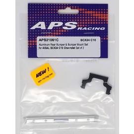 APS Racing Aluminum Rear Bumper and Mount for SCX24 C10