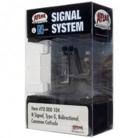 Atlas N Scale Signal Type G (Bi-Directional)
