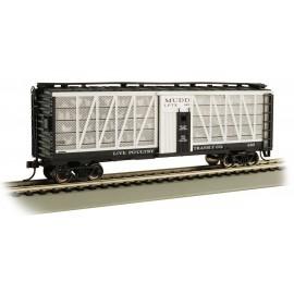 Bachmann HO Scale Live Poultry Transit Co. #682 - Poultry Transport Car