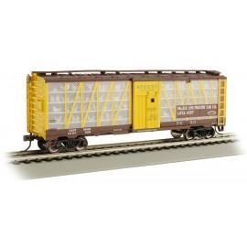 Bachmann HO Scale Palace Live Poultry Car Co. #4207 - Poultry Transport Car
