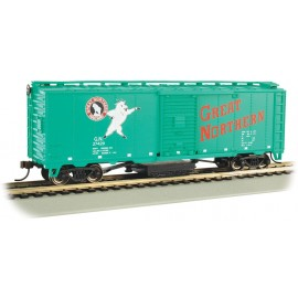 Bachmann HO Scale Great Northern #27429 - Track-Cleaning 40' Boxcar