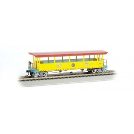 Bachmann HO Scale Ringling Bros. & Barnum & Bailey-Open-Sided Excursion Car