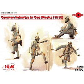ICM 1/35 German Infantry in Gas Masks