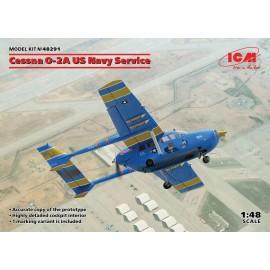 ICM 1/48 Cessna O2A US Navy Service Plastic Model Kit