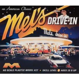 Moebius HO Scale Mel's Drive In Plastic Model Kit