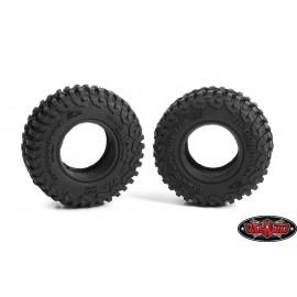 "RC4WD 1.0"" BFGoodrich T/A KM3 Tires (2) Z-T0200"