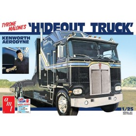 AMT 1/25 Scale Tyrone Malone Kenworth Aerodyne Hideout Truck Plastic Model
