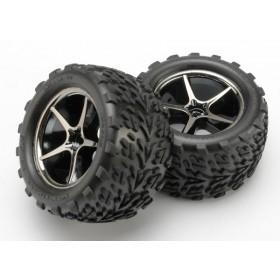 Traxxas Gemini Wheels & Talon Tires 1/16 (2)