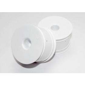 Traxxas 2.2 Dished Wheels White 1/16 (2)