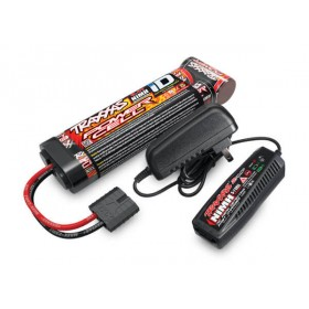 Traxxas 3000mAh 8.4v NiMh Stick Battery & AC Peak Charger