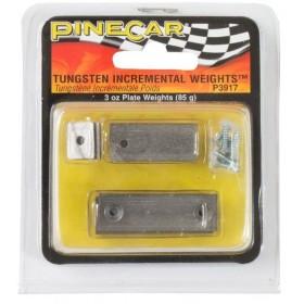 Pinecar Pinewood Derby Tungsten Incremental Weights 3 oz