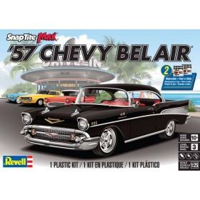 Revell 1/25 1957 Chevy Bel Air SnapTite Plastic Model Kit