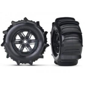 Traxxas X-Maxx Mounted Paddle Tires (2)