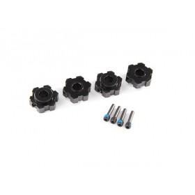 Traxxas Maxx Black Aluminum Hex Wheel Hubs (4)